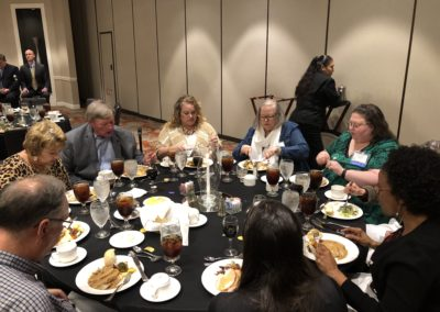 October 2018 Dinner Meeting